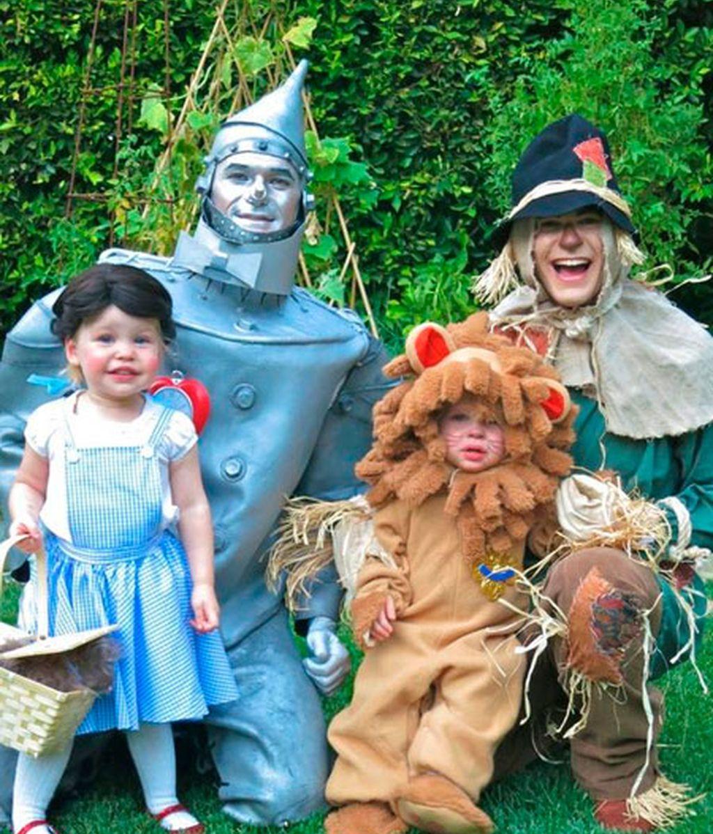 Neil Patrick Harris, con su marido y sus hijos