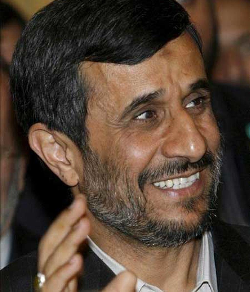 Abucheos a Mahmud Ahmadineyad