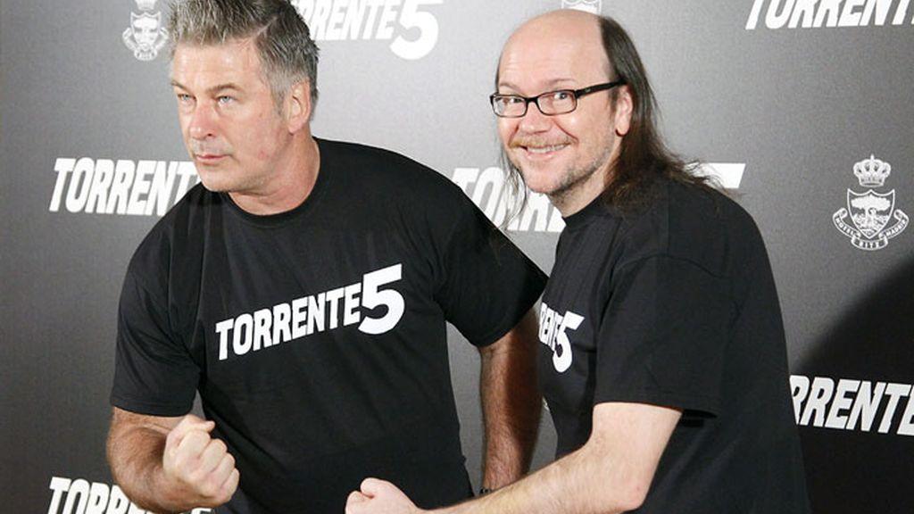 Alec Baldwin y Santiago Segura, juntos en 'Torrente 5'