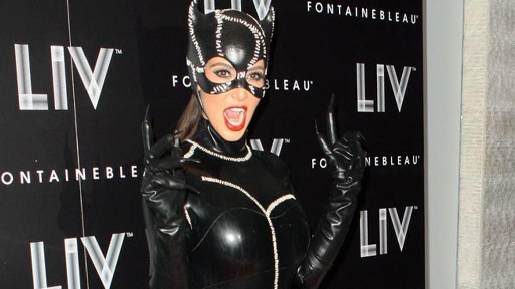 La 'gata' Kim Kardashian