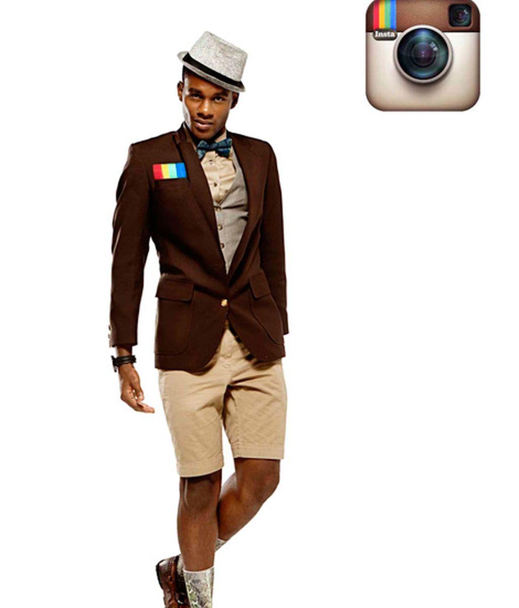 Ocho modelos representan a las redes sociales más populares