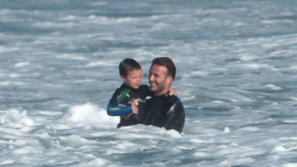 Beckham, todo un padrazo