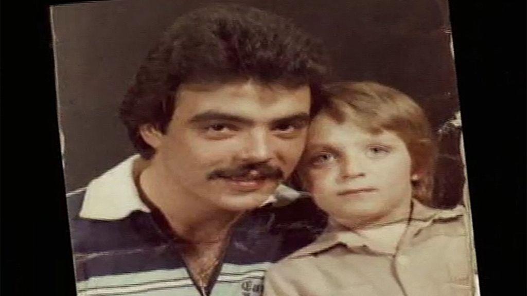 Nete, con su padre en 'Aquellos maravillosos años'