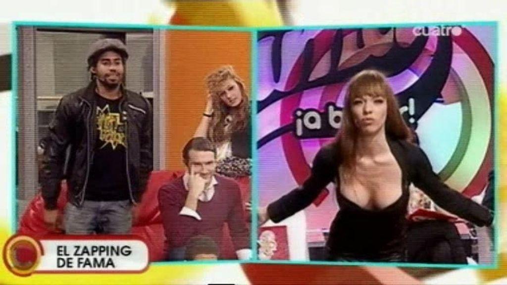 El pique entre Sergio y Vanexxa durante la publi