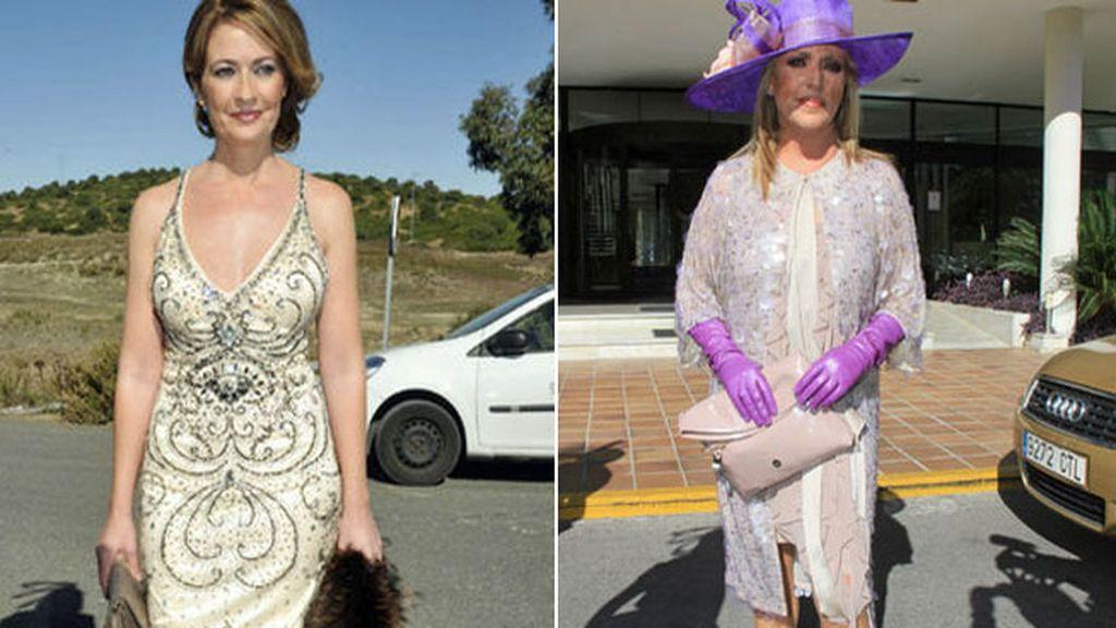 Vestido de novia trapote