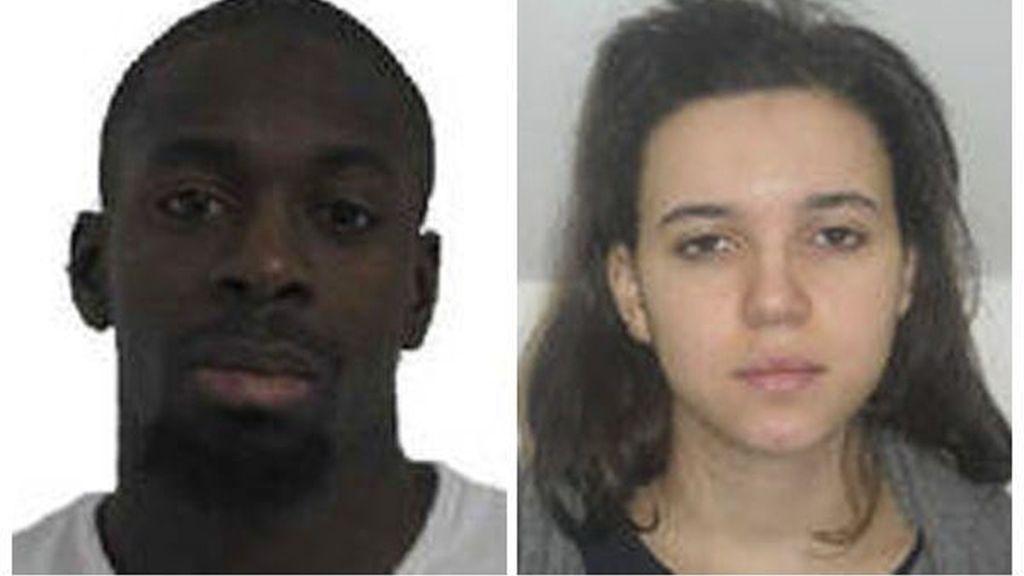 Amedy Coulibaly y Hayat Boumeddiene