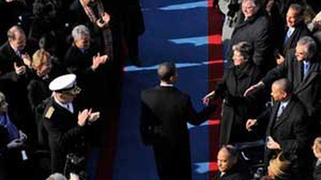 Obama ya es presidente de EEUU. Vídeo: Informativos Telecinco