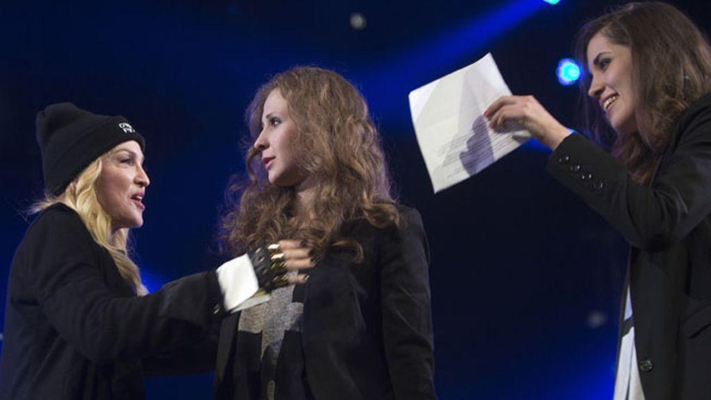 Madonna y las Pussy Riot, juntas contra Putin