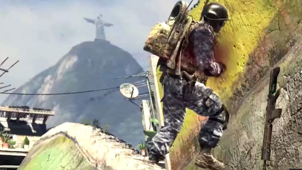Call of Duty Ghosts, favela, DLC, videojuego, Brasil