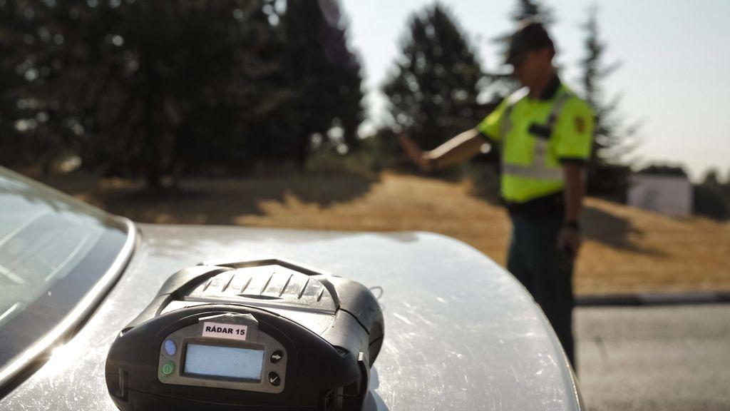 Más de 35.000 conductores, denunciados por exceso de velocidad en una semana de campaña de la DGT