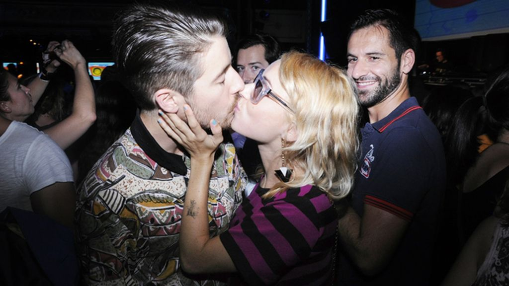 Miranda Makaroff y su novio, el DJ Pascal Moscheni