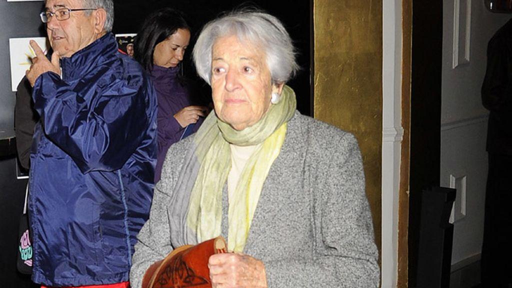 Los famosos dan su último adiós a Amparo Rivelles