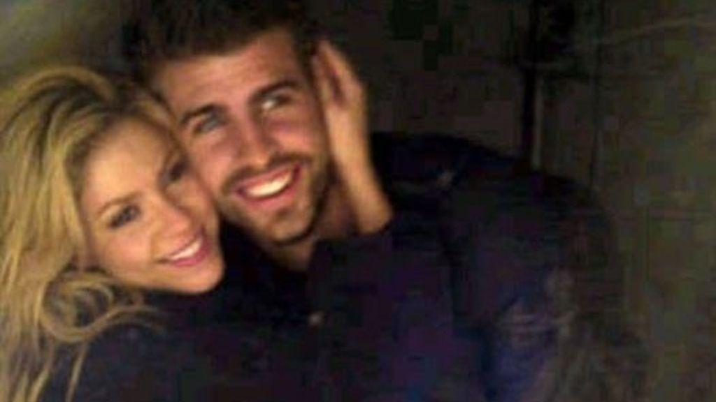 Shakira y Piqué, dos tortolitos