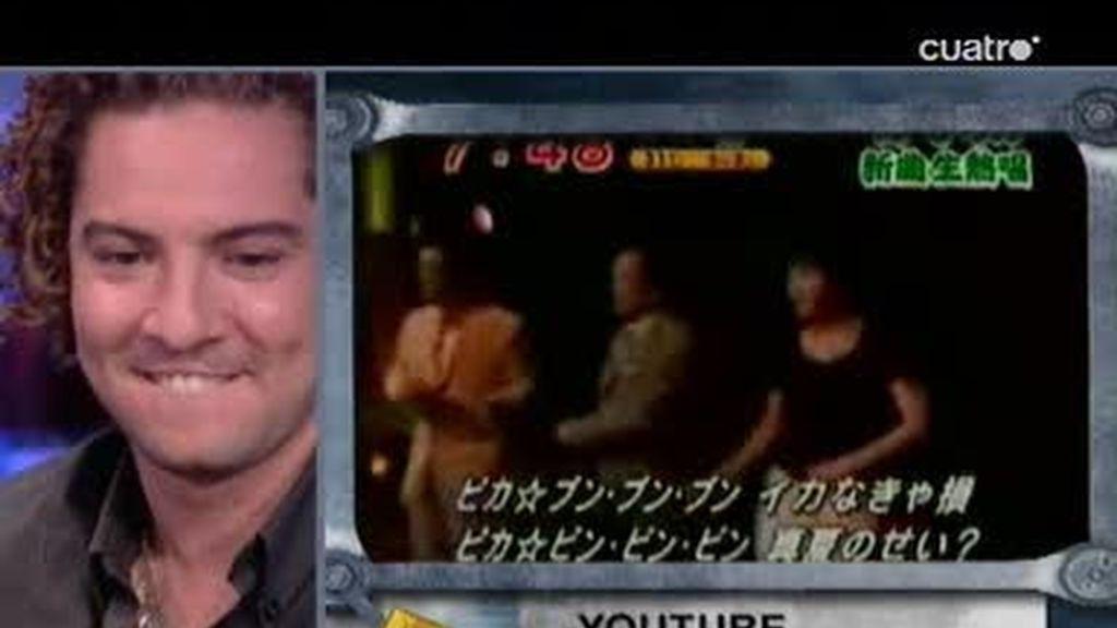 David Bisbal canta hasta en japonés