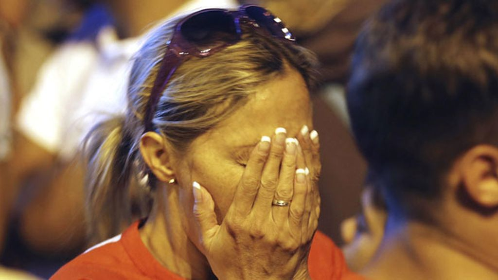 Tristeza tras la eliminación de Madrid para los JJOO 2020