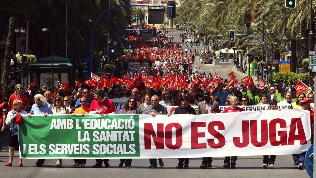 Manifestaciones en toda España contra los recortes