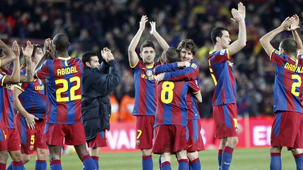 El Barcelona le clava una manita de autoridad al Madrid