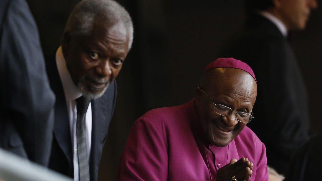 Desmond Tutu despide a su amigo Nelson Mandela