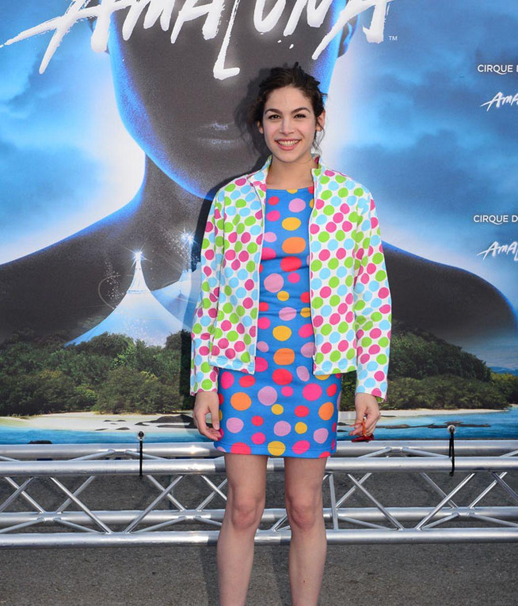 Cósima Ramírez, vestida de un diseño de su madre, Agatha Ruiz de la Prada
