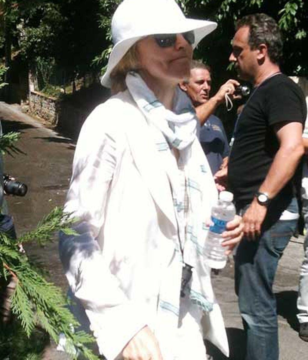 Madonna rueda su segunda película en el sur de Francia