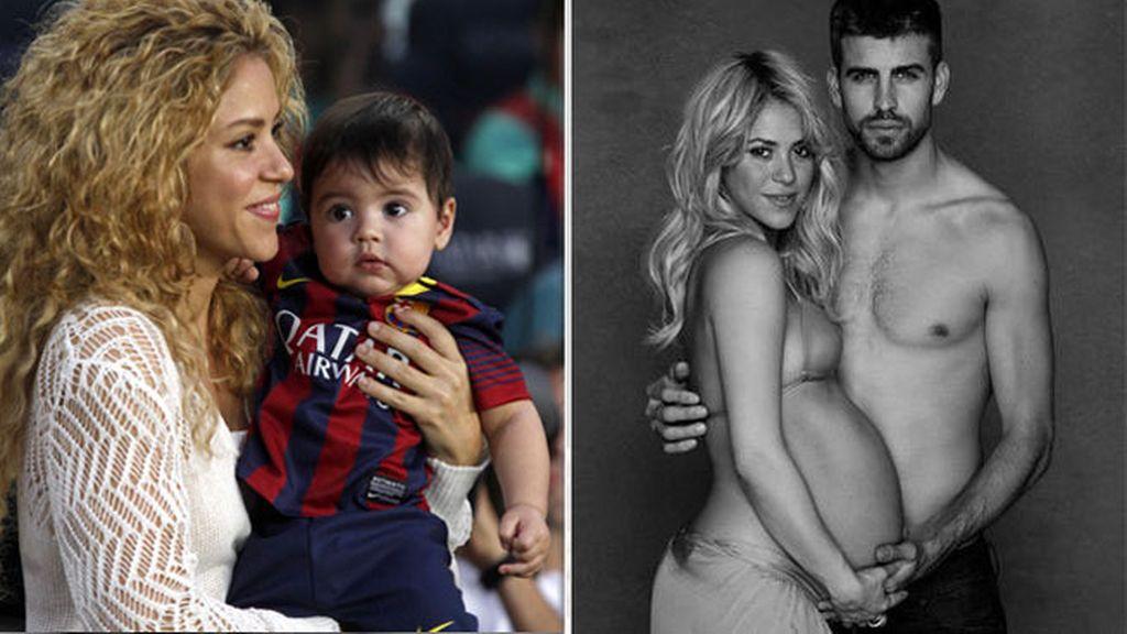 Milan (¡sin acento!), el primer hijo de Piqué y Shakira