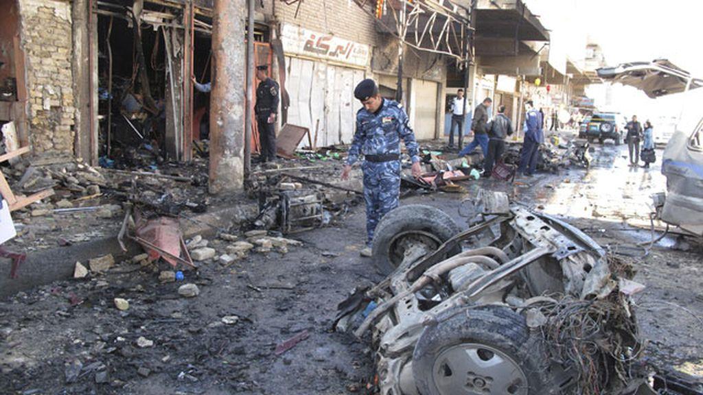 Casi cuarenta muertos en una cadena de explosiones en Irak
