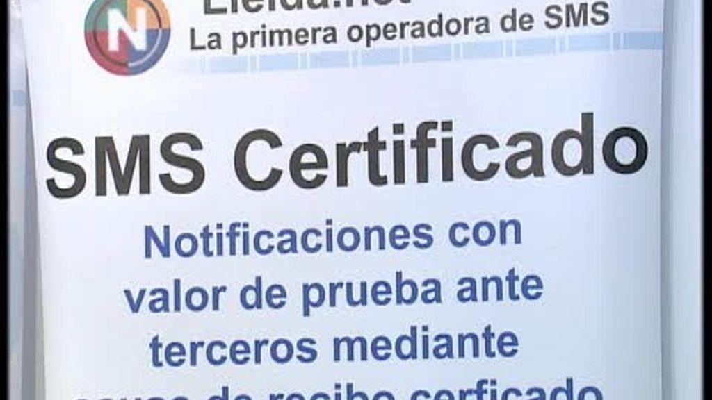Las multas y los partes del seguro en un SMS