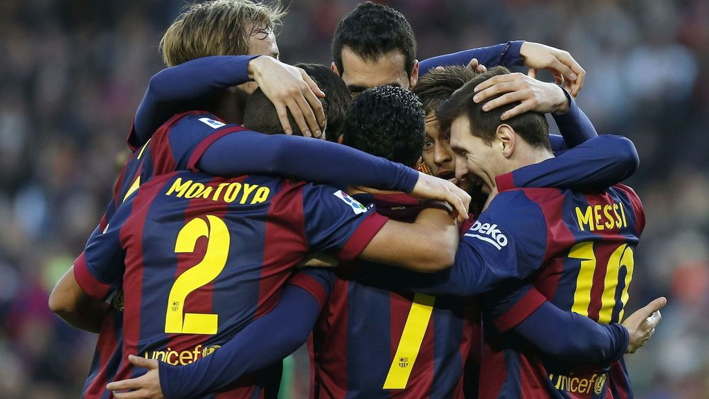 Barça 5-0 Levante
