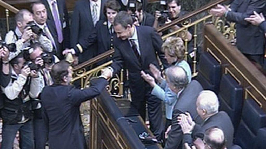 Rajoy felicita al presidente del Ejecutivo