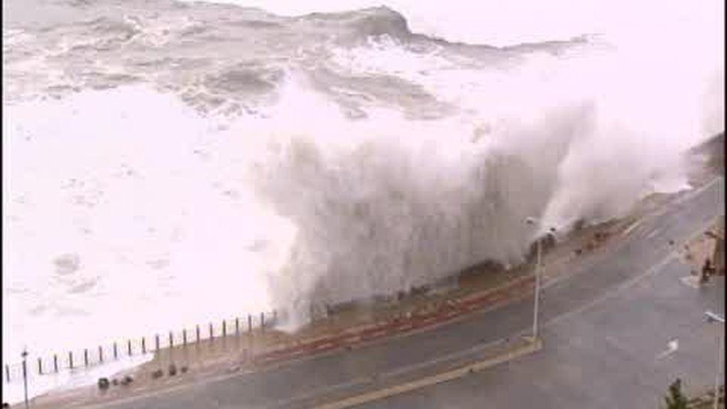 Pequeño tsunami