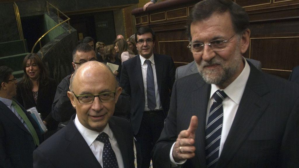 Mariano Rajoy y Cristobal Montoro
