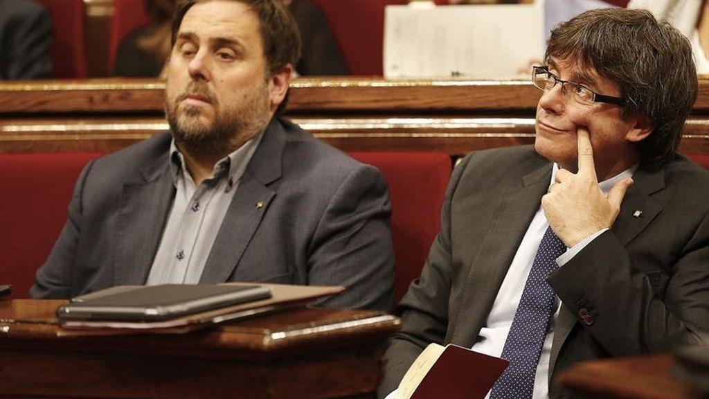 El Parlament vota la desconexión de España