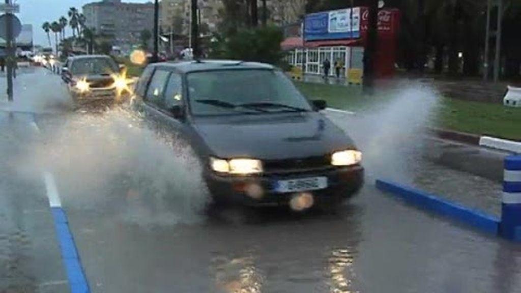 Andalucía se inunda