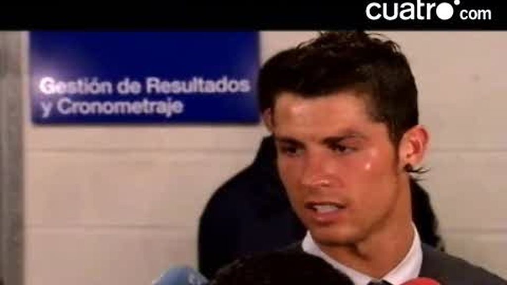 La falta de control de Cristiano Ronaldo
