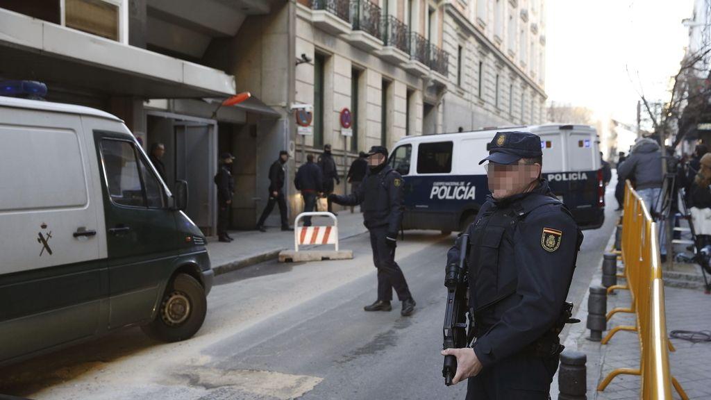 Los cuatro presuntos yihadistas detenidos en Ceuta pasan a disposición de la Audiencia Nacional