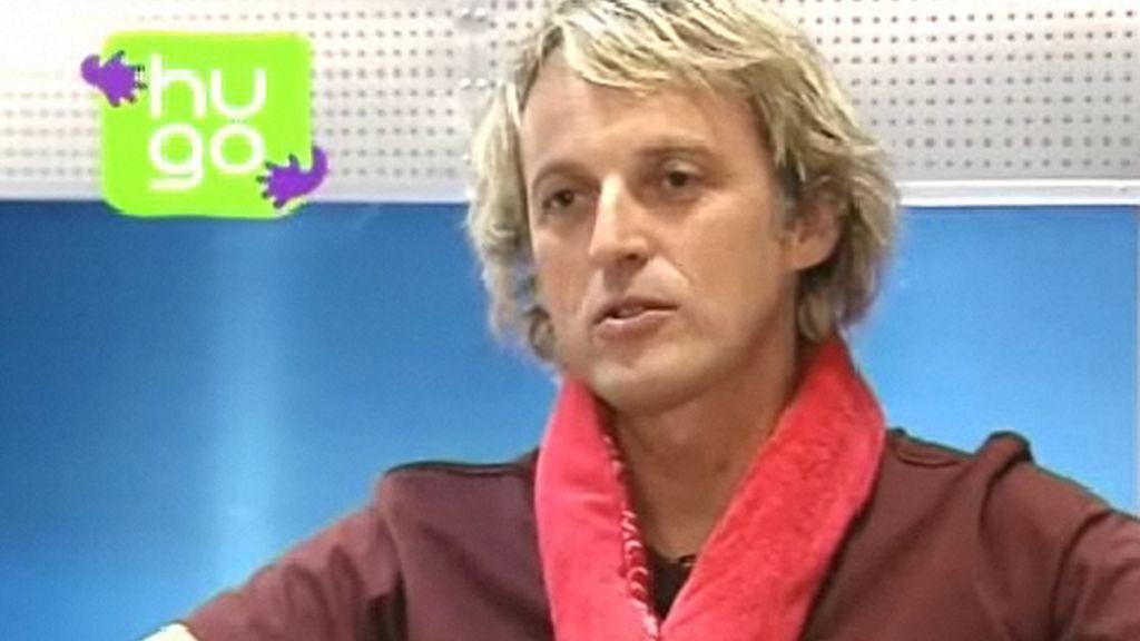 Jesús Calleja cuenta en exclusiva que le llevó a apadrinar el proyecto Hugo