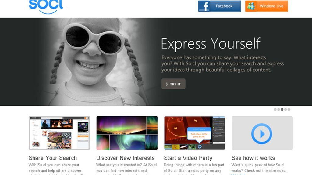 So.cl es una red social pensada para compartir contenidos y descubrir información.