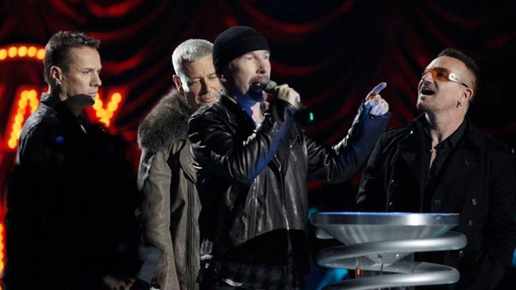 U2, mejor directo del año