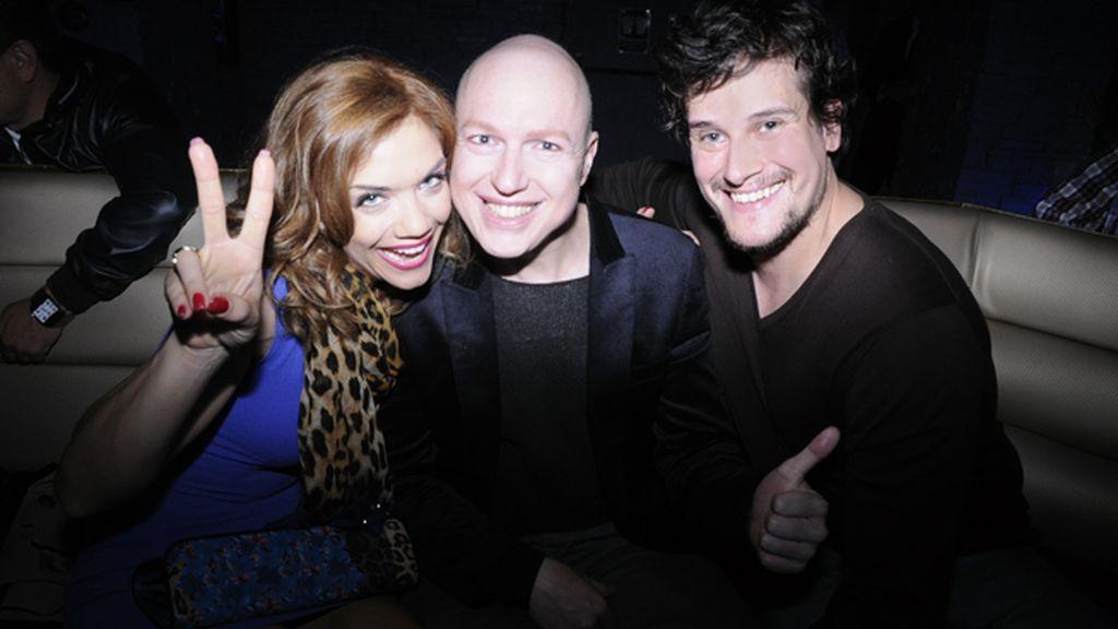 Beatriz Trapote, David Salomón y Carlos García