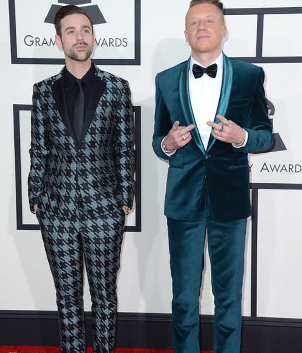 Macklemore & Ryan Lewis, arrasaron en las categorías de rap