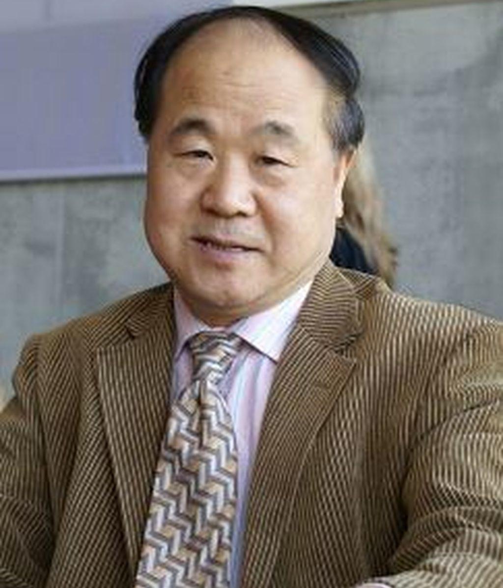 El escritor chino Mo Yan, ganador del Premio Nobel de Literatura
