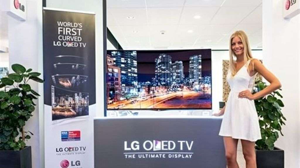 La televisión Curved OLED de LG llega a Europa por 8.999 euros