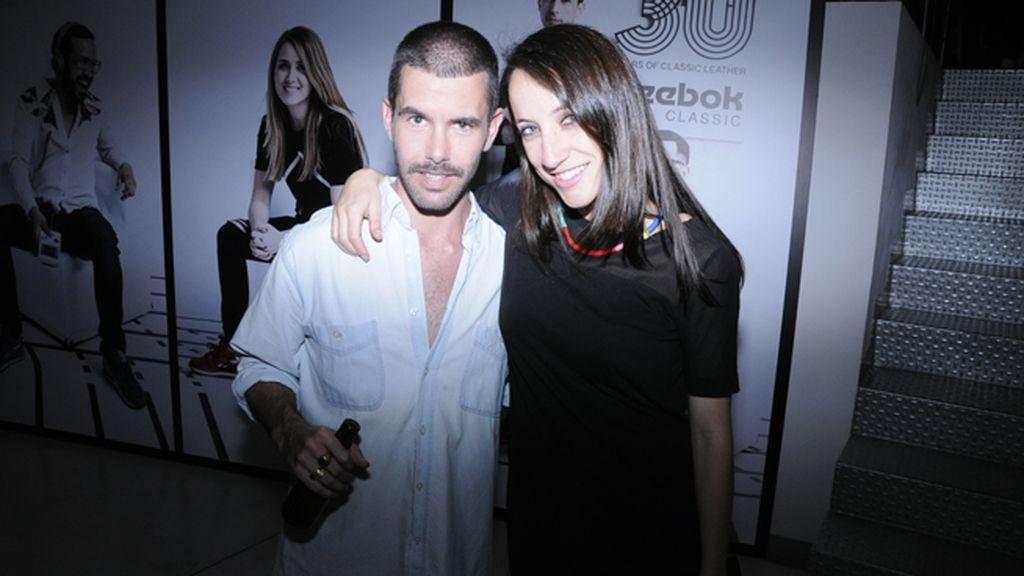Pedriño con Raquel Sánchez