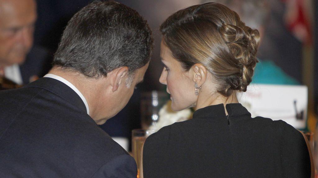 Elegante parada de los Príncipes de Asturias en Nueva Yersey