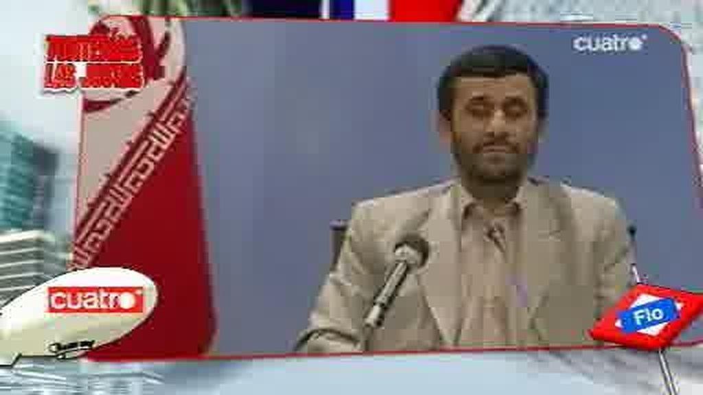 El irreverente humor de Eugenio Ahmadineyad