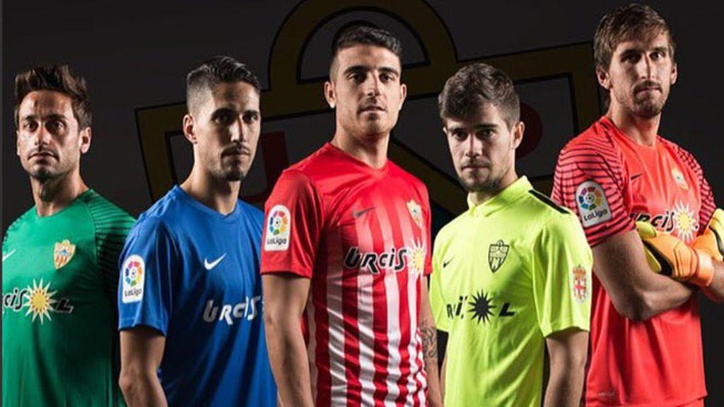 Equipación del Almería en la temporada 2016/2017