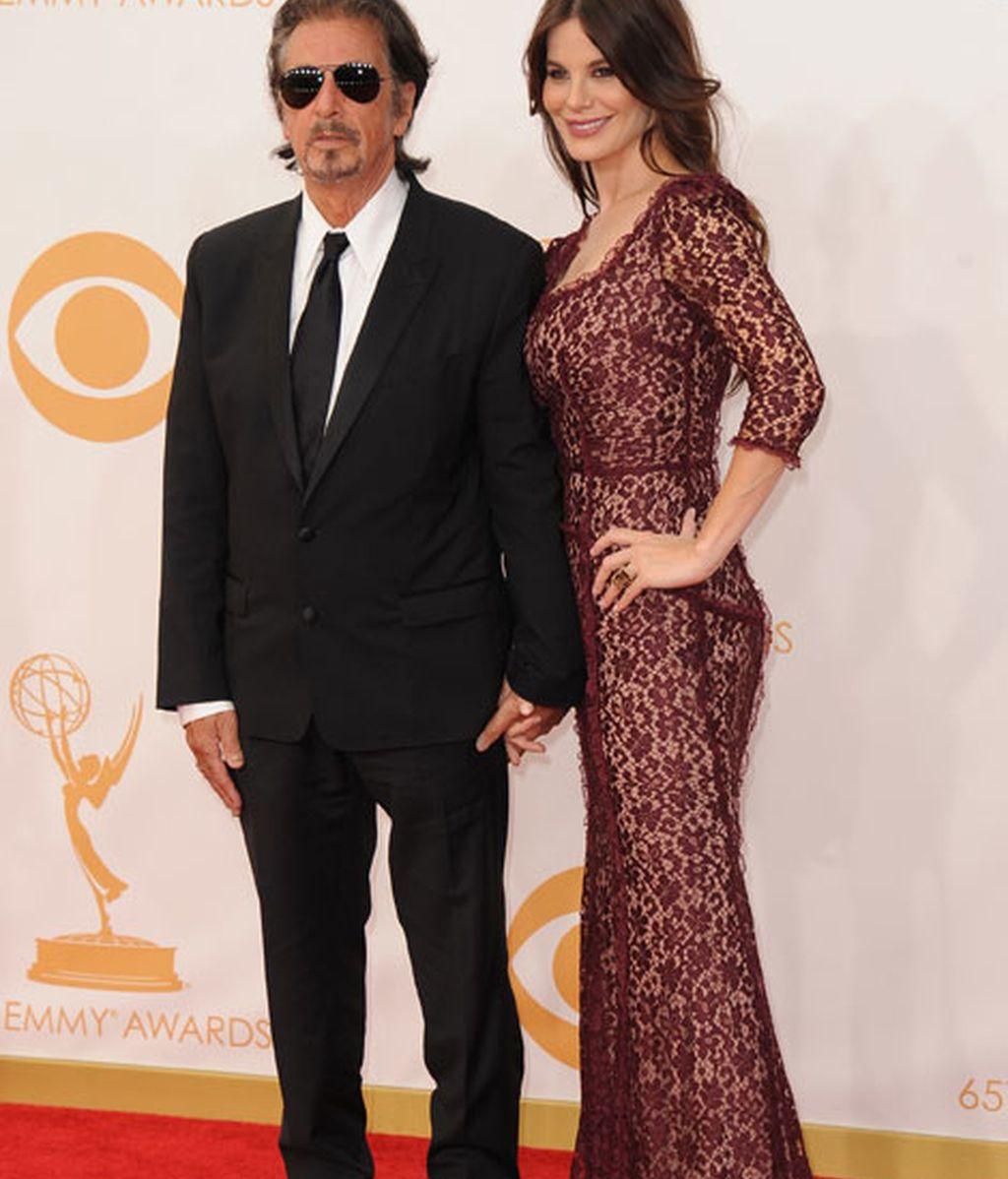 Al Pacino y Lucila Sola también estuvieron en la alfombra roja