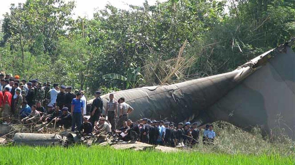 Tragedia aérea en Indonesia