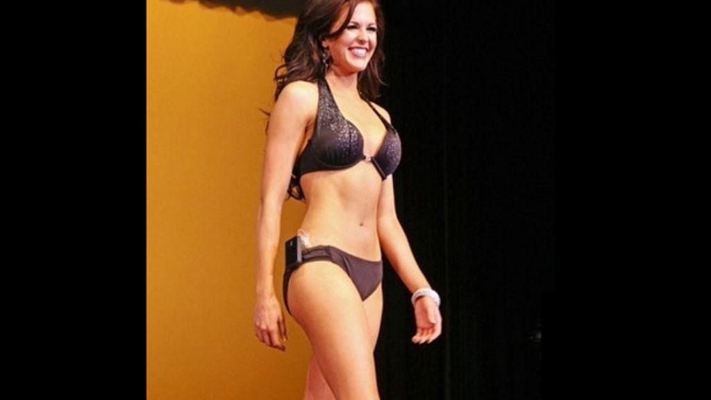 Una modelo diabética se corona Miss Idaho desfilando con una bomba de insulina