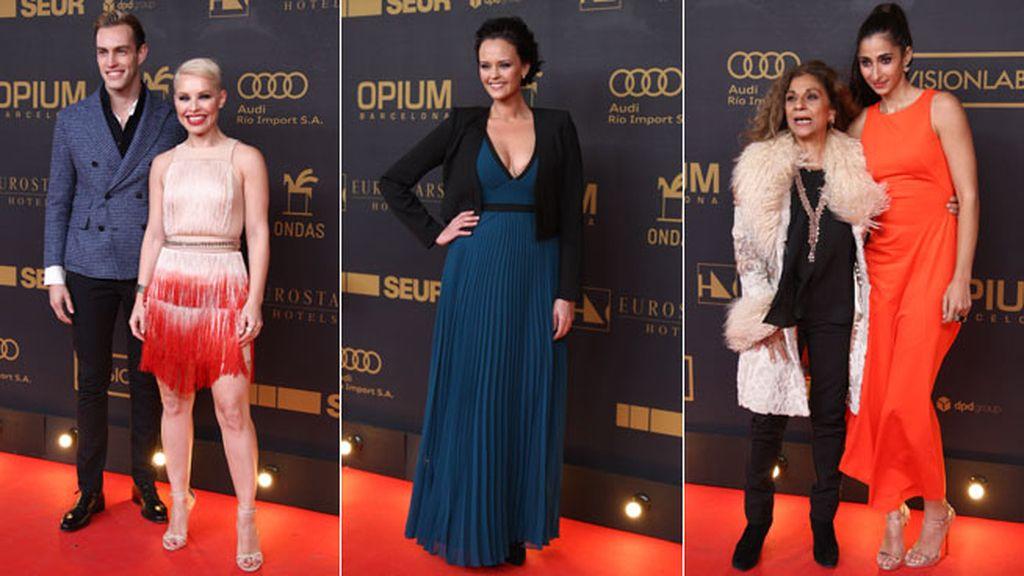 Shaila Durcal, Soraya, Alba Flores y Lolita no se han perdido la gala de los Ondas